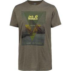 Jack Wolfskin Mountain T T-Shirt Herren pinewood