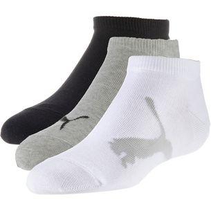 PUMA Socken Pack Kinder white-grey-black