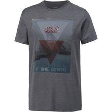 Jack Wolfskin Mountain T T-Shirt Herren ebony