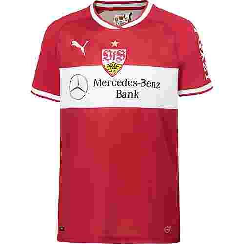 PUMA VfB Stuttgart 18/19 Auswärts Fußballtrikot Herren ribbon red-puma white