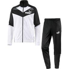 PUMA Iconic Tricot Trainingsanzug Herren puma black-puma white