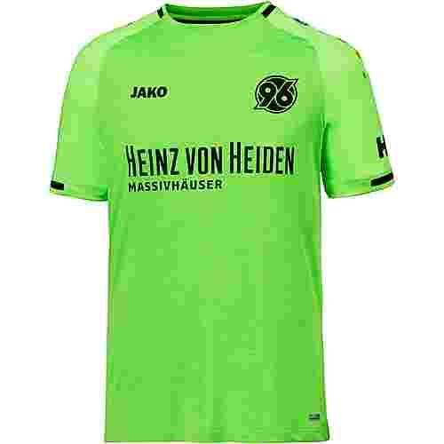 JAKO Hannover 96 18/19 3rd Fußballtrikot Herren neongrün