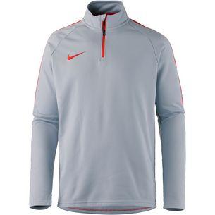Nike Academy Funktionsshirt Herren wolf grey-lt crimson-lt crimson