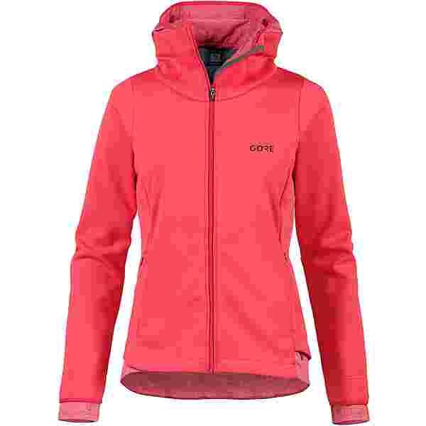 GORE® WEAR R3 GWS THERMO Laufjacke Damen hibiscus pink