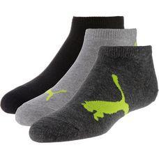 PUMA Socken Pack Kinder black-grey-yellow
