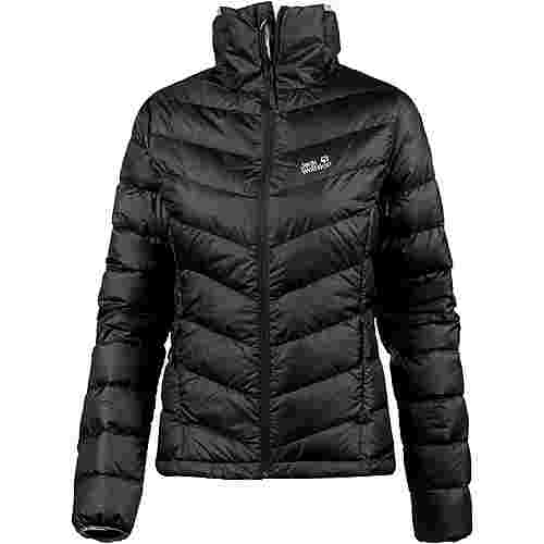 jack wolfskin helium high daunenjacke damen black im online shop von sportscheck kaufen. Black Bedroom Furniture Sets. Home Design Ideas