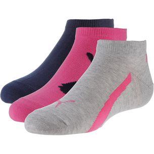 PUMA Socken Pack Kinder blue-pink
