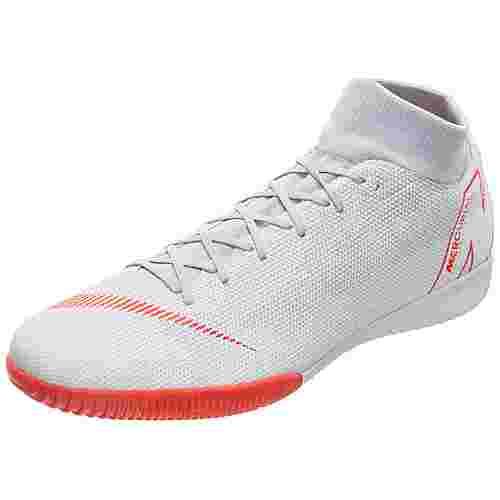 Nike Mercurial SuperflyX VI Academy Fußballschuhe Herren grau / rot