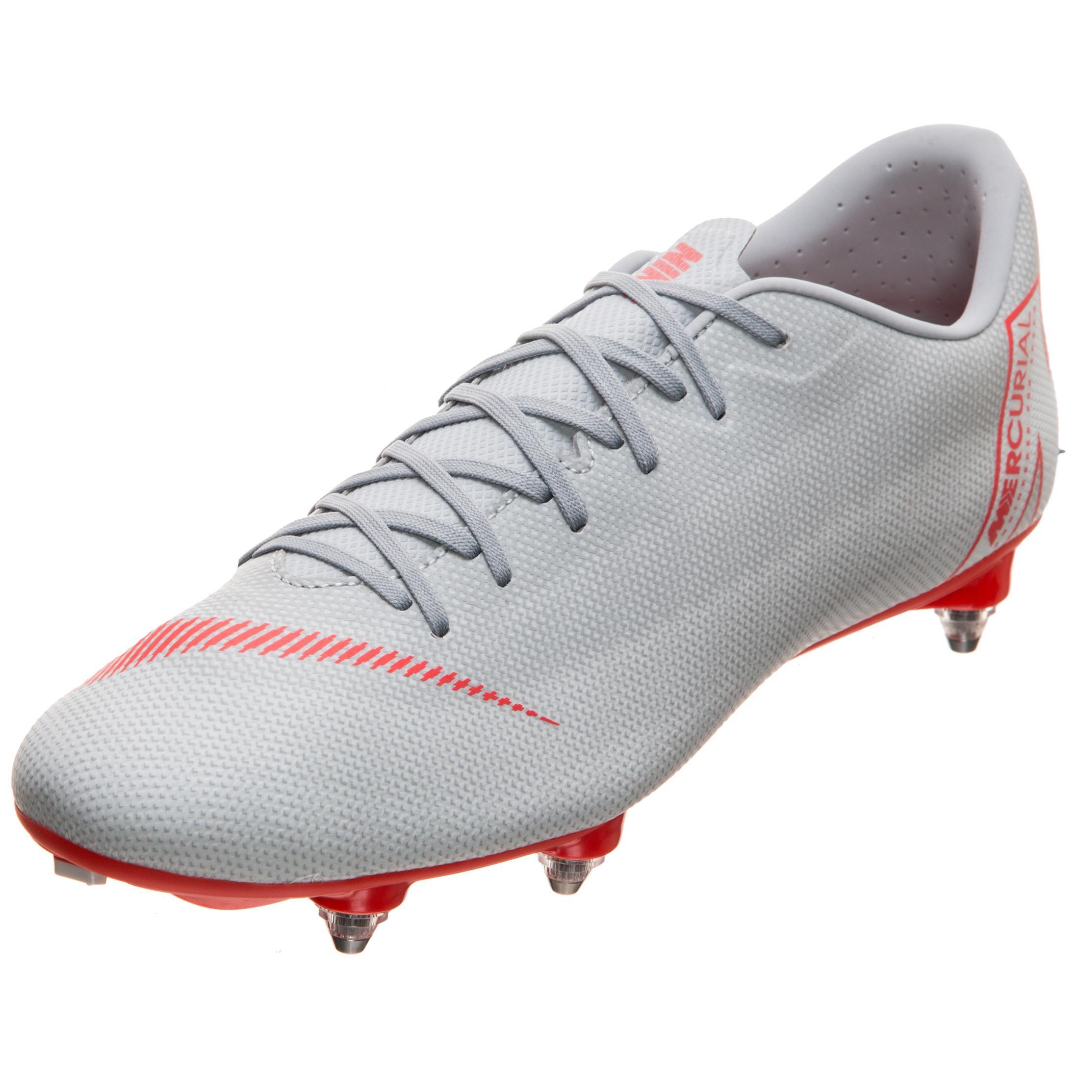 Nike Mercurial Mercurial Mercurial Vapor XII Academy SG-Pro Fußballschuhe Herren grau / rot im Online Shop von SportScheck kaufen Gute Qualität beliebte Schuhe 3cb3e0