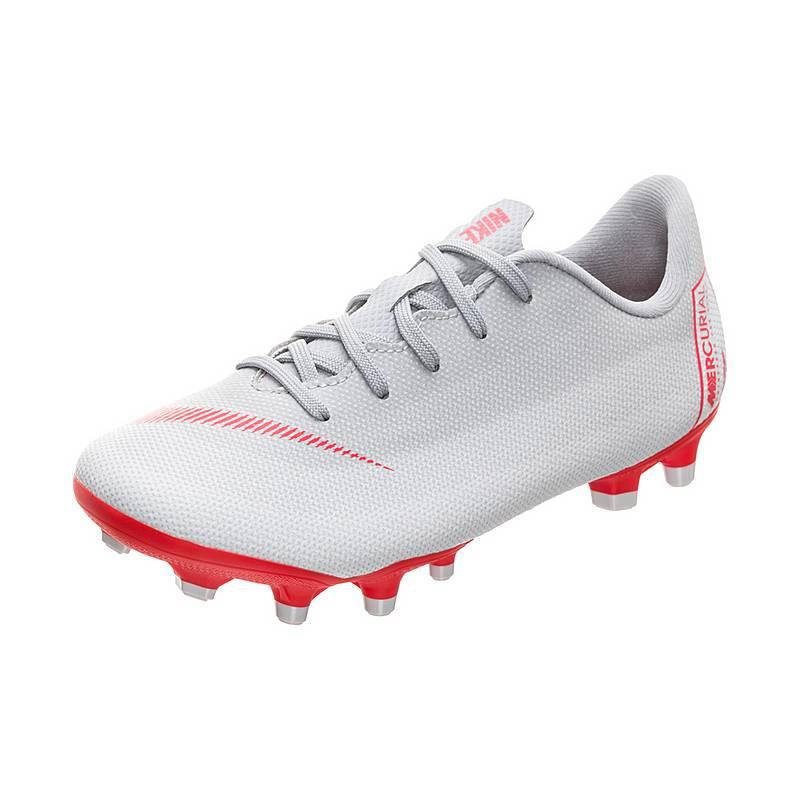 huge discount d1501 735c9 ... promo code for nike mercurial vapor xii academy fußballschuhe kinder  grau rot 722bb 7a9d0