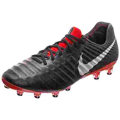 new style c9615 5a1c3 Nike Tiempo Legend VII Elite AG-Pro Fußballschuhe Herren schwarz / rot