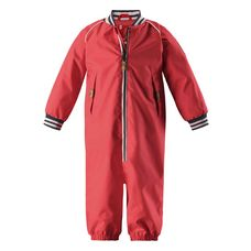 reima Kuiskaus Overall Kinder Bright red