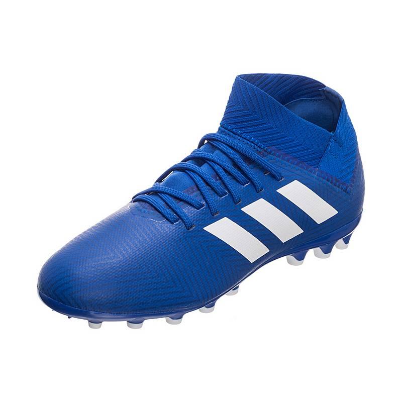 a697d920704c Adidas Nemeziz 18.3 AG Fußballschuhe Jungen blau   weiß im Online ...