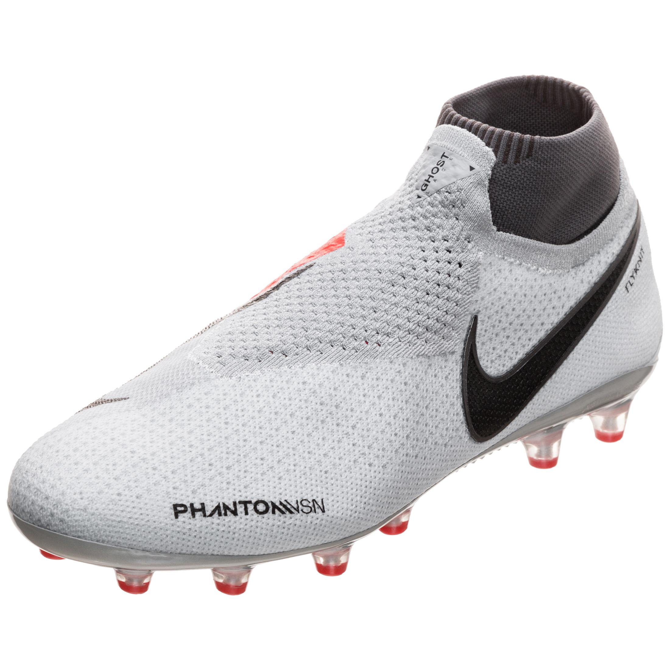 Nike Phantom Vision Elite Df Ag Pro Fussballschuhe Herren Grau Rot Schwarz Im Online Shop Von Sportscheck Kaufen