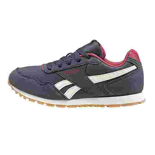 Reebok Reebok Royal Glide Suede Sneaker Kinder Collegiate Navy / Cranberry Red / Chalk / Gum