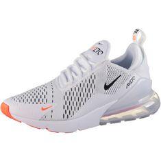 Nike Air Max 270 JDI Sneaker Herren white-black-total orange