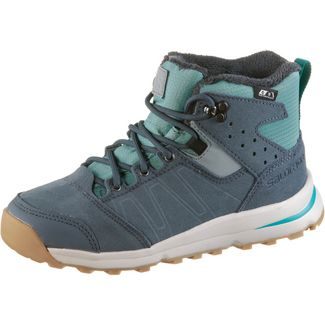 Salomon Winterschuhe Kinder trellis-stormy weather-tropical gre
