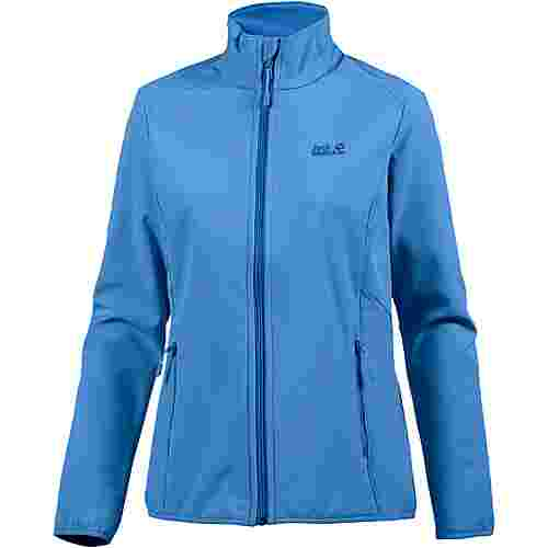 Jack Wolfskin Northern Pass Softshelljacke Damen zircon blue