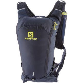 Salomon Agile 6 Trinkrucksack night-sky-sulphur-spring