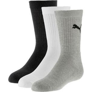 PUMA Socken Pack Kinder grey-white-black