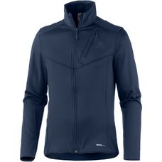 Salomon Discovery Fleecejacke Herren night sky heather