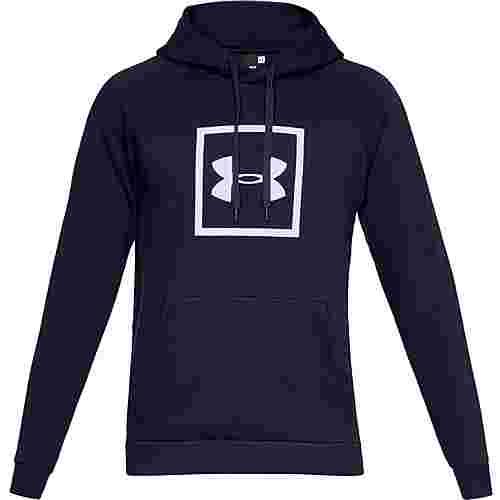 Under Armour Rival Fleece Logo Hoodie Herren academy-white