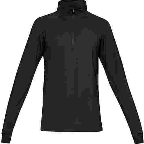 Under Armour ColdGear Reactor Run Laufshirt Herren black-black-reflective