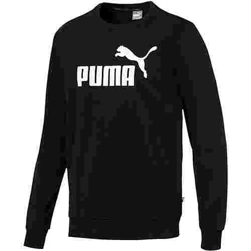 PUMA ESS Logo Sweatshirt Herren puma black
