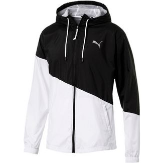 PUMA Windbreaker Herren puma black-puma white