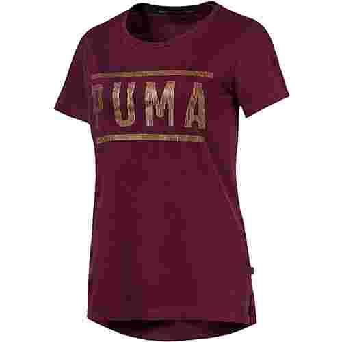 PUMA T-Shirt Damen Fig-BronzeMedal