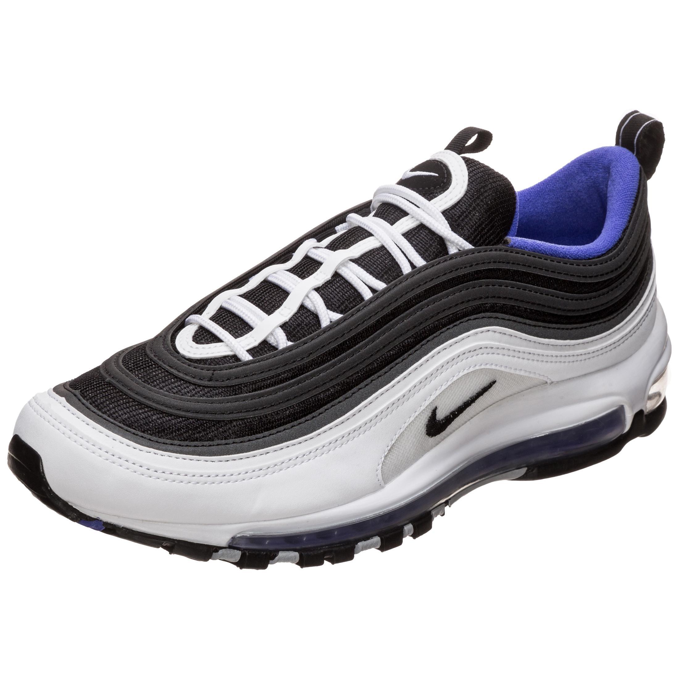 finest selection 8f281 6462b Nike Air Max 97 Sneaker Herren weiß / schwarz / lila im Online Shop von  SportScheck kaufen