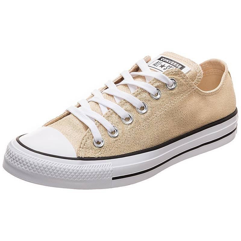 0b7908163036 ... get converse chuck taylor all star ox sneaker damen gold weiß 9ba59  ddc7c