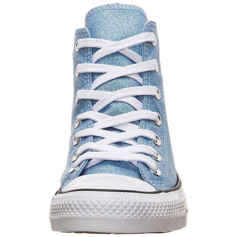 4558efff8514 CONVERSE Chuck Taylor All Star High Sneaker Damen hellblau   weiß. Vollbild
