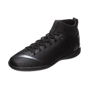 Nike Mercurial SuperflyX VI Academy Indoor Fußballschuhe Kinder schwarz