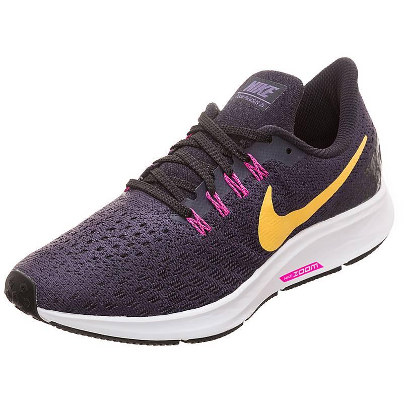 new style cb63e 42ac5 Nike Air Zoom Pegasus 35 Laufschuhe Damen dunkelgrau  orange