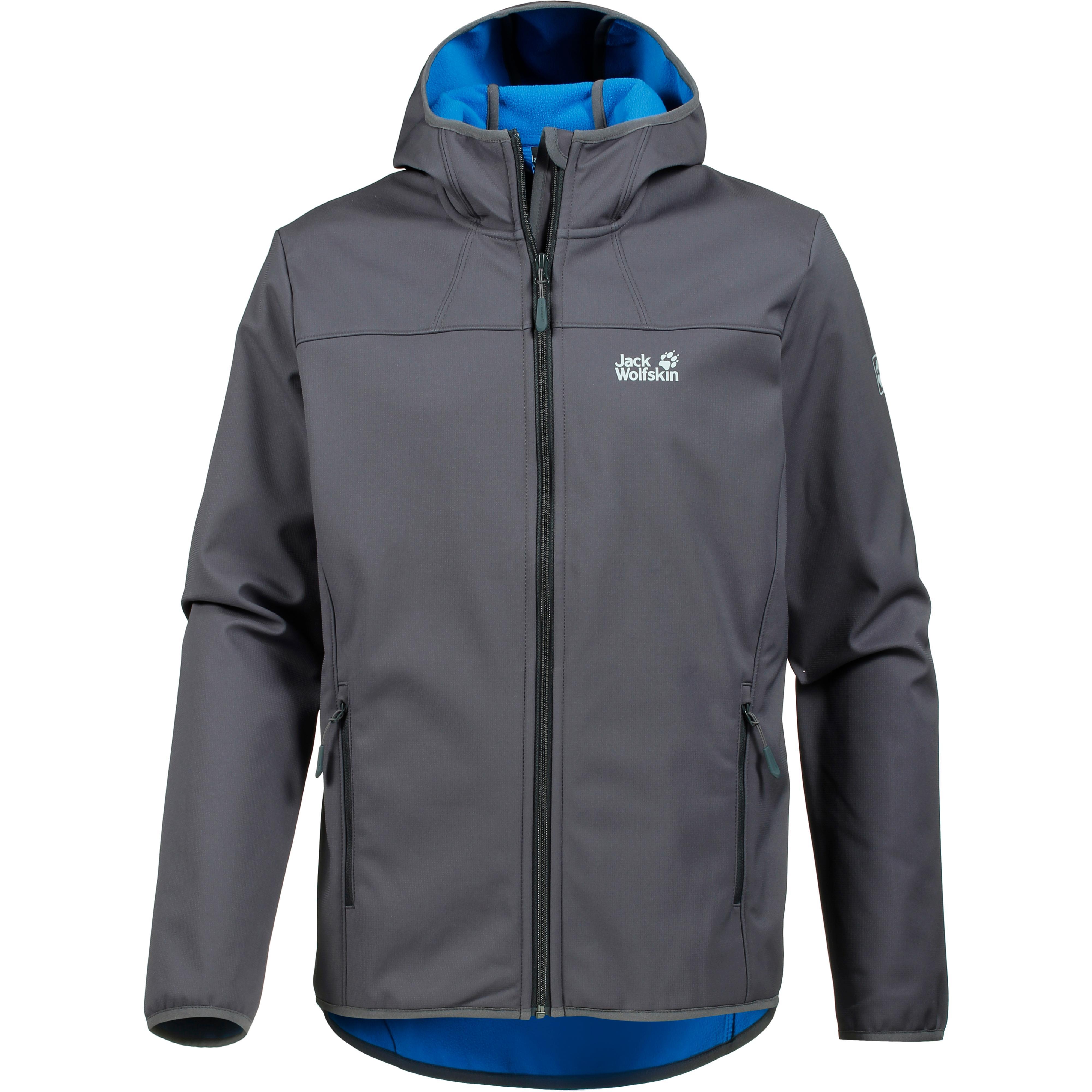 new style bf559 2bddf Jack Wolfskin Northern Point Softshelljacke Herren ebony im Online Shop von  SportScheck kaufen