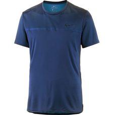 Nike Challenger Crew Tennisshirt Herren blue void-military blue