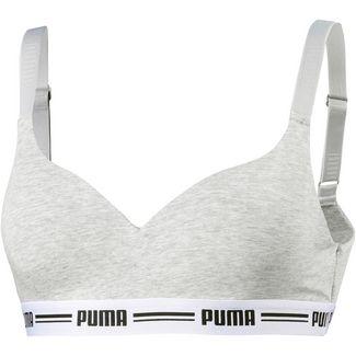 PUMA Iconic Bustier Damen grey melange