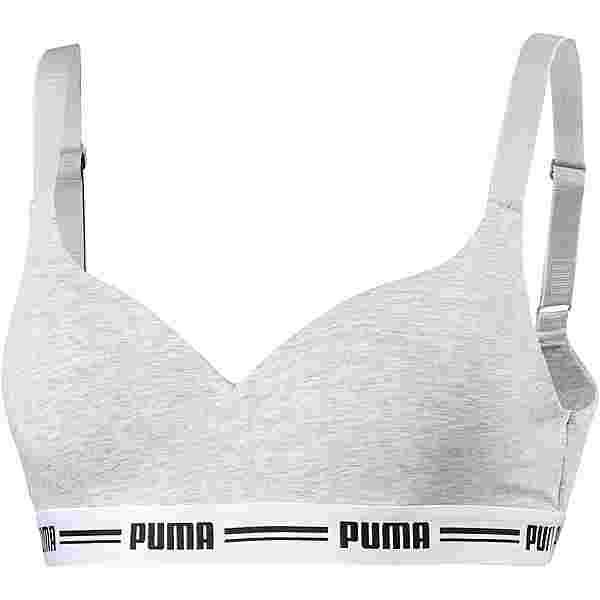 PUMA Iconic BH Damen grey melange