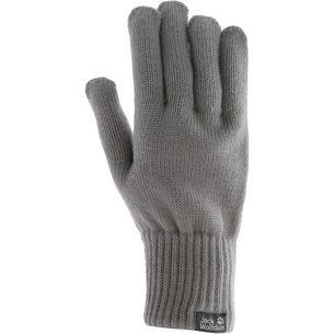 Jack Wolfskin Milton Fingerhandschuhe grey heather