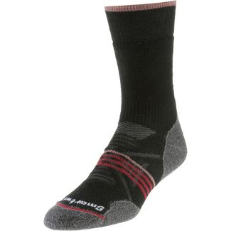 Smartwool Outdoor Medium Crew Wandersocken Damen black-tibetan red