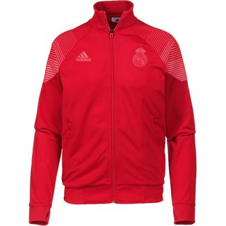 adidas Real Madrid Trainingsjacke Herren vivid red