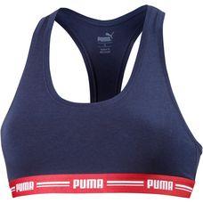 PUMA Bustier Damen blue red