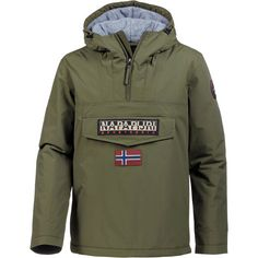 Napapijri Rainforest Windbreaker Herren green musk