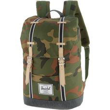 Herschel Retreat Daypack woodland camo-dark denim