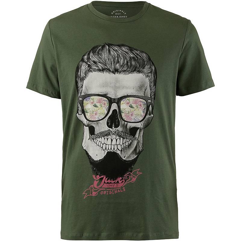 CORE by JACK   JONES T-Shirt Herren thyme im Online Shop von ... 9f6bdf4fe2