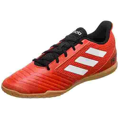 adidas Predator Tango 18.4 Sala Fußballschuhe Herren rot / weiß / schwarz