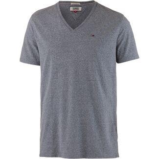 Tommy Jeans Original Triblend V-Shirt Herren black iris