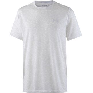 Under Armour Threadborne Print Funktionsshirt Herren white-elemental