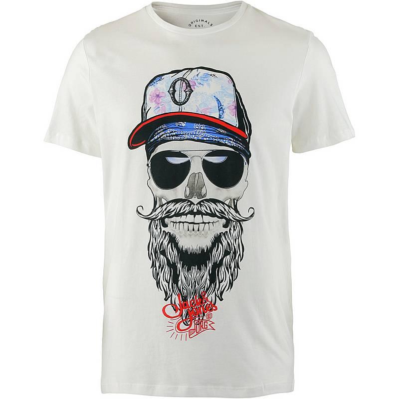 CORE by JACK   JONES T-Shirt Herren cloud dancer im Online Shop von ... 30f4549d77